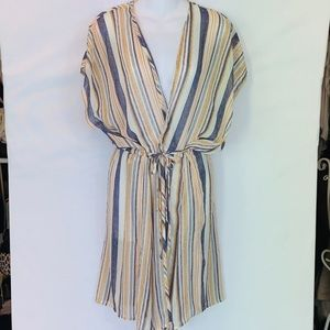 ~Xhilaration~ NWOT Blue and White stripped dress.